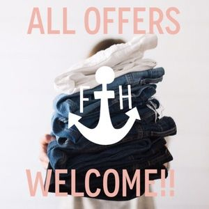 I love hearing your offers!